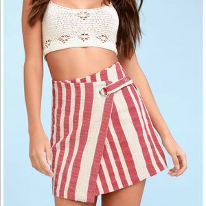 Free people it's a wrap skirt NWT